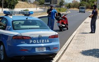polizia mt blocc motorini